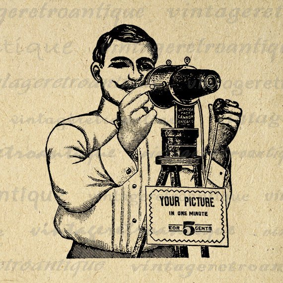 Vintage photographer clipart png library Vintage photographer clipart 3 » Clipart Portal png library
