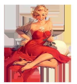 Vintage pinup clipart picture download Retro and Vintage Clip Art picture download