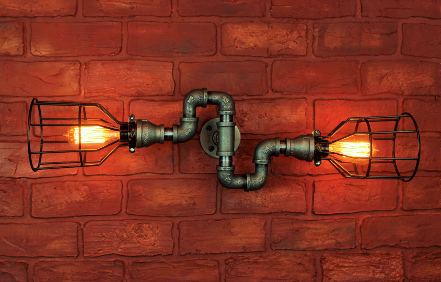 Vintage pipe lamps clipart picture royalty free library Edison Bulb Light Ideas: 22 Floor, Pendant, Table Lamps picture royalty free library