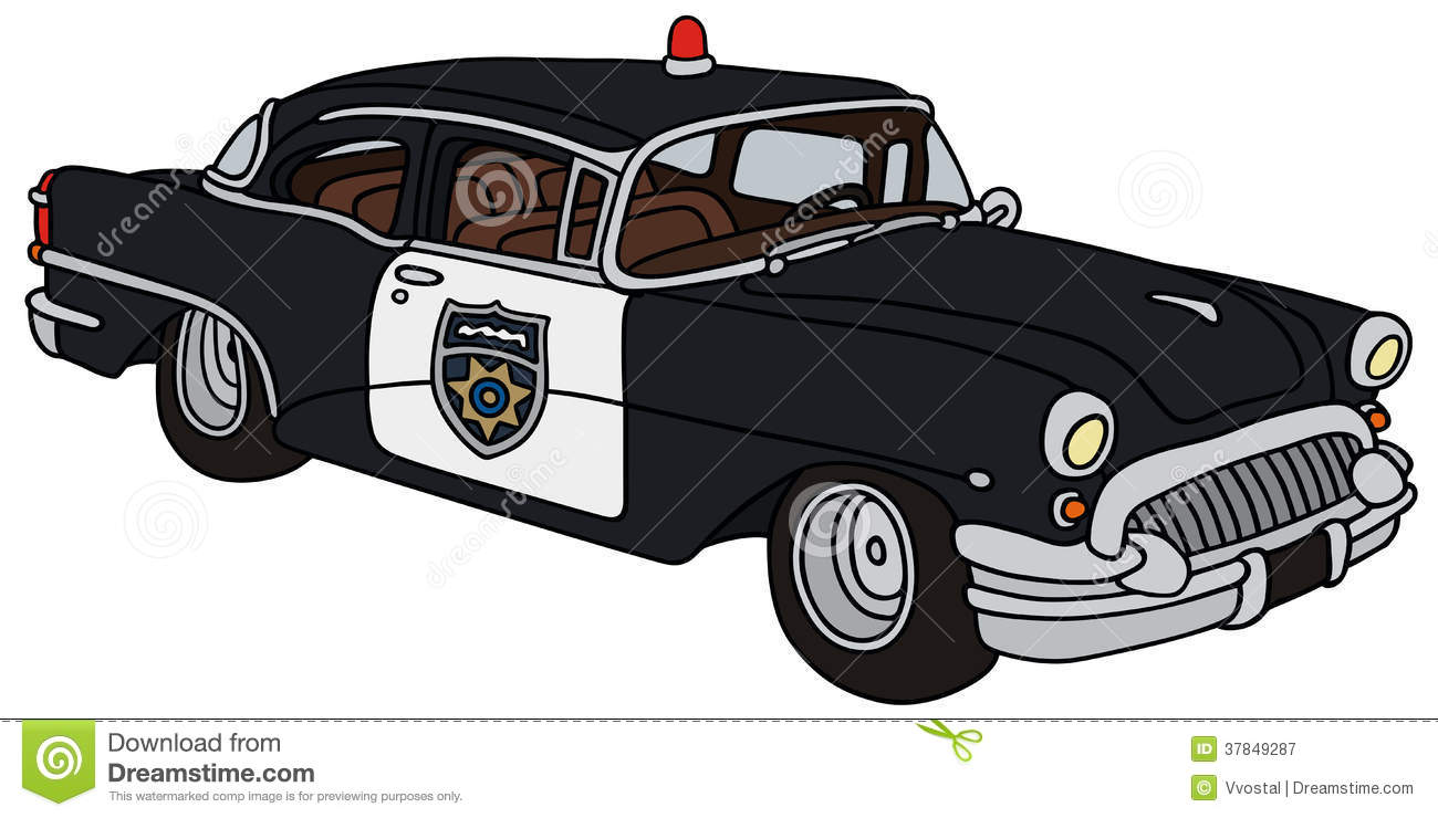 Vintage police car clipart jpg transparent stock Vintage police car clipart - ClipartFest jpg transparent stock