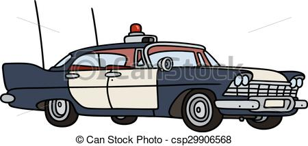 Vintage police car clipart banner freeuse library Vintage police car clipart - ClipartFest banner freeuse library