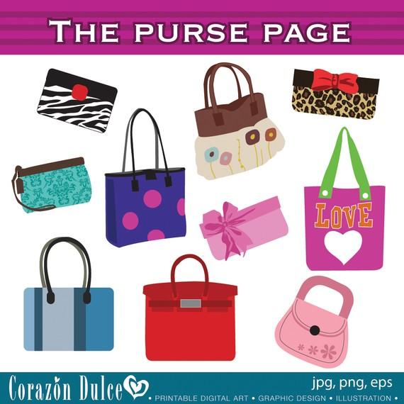 Vintage purse clipart svg library download Antique Image: Digital Download of Women&Vintage Fashion ... svg library download
