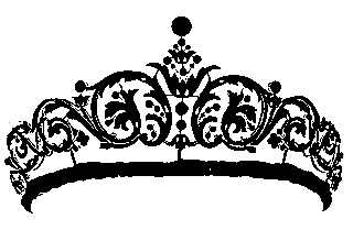 Vintage queen crown clipart banner free download Nini d\'Amour: Queen Crown - Free vintage clip art banner free download