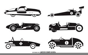 Vintage race car boardere clipart image Vintage Race Car Clipart | Free Images at Clker.com - vector ... image