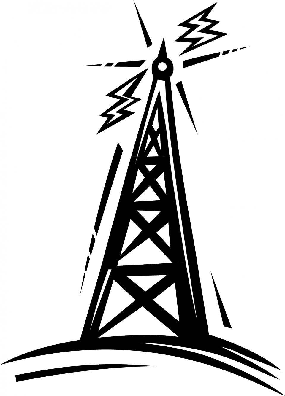 Vintage radio tower clipart jpg royalty free stock Collection of Radio tower clipart | Free download best Radio ... jpg royalty free stock