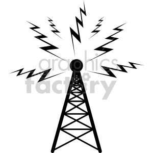Vintage radio tower clipart clip transparent library radio clipart - Royalty-Free Images | Graphics Factory clip transparent library