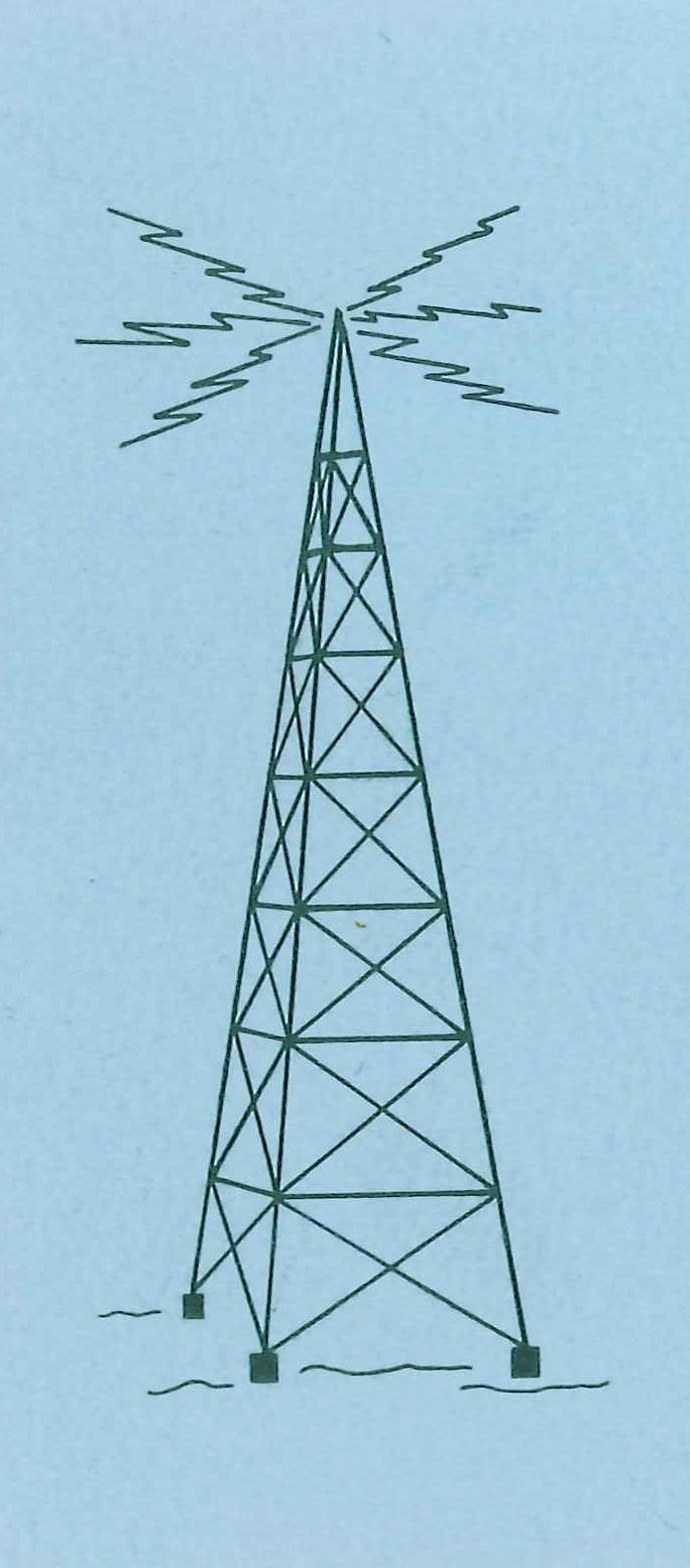 Vintage radio tower clipart clipart royalty free library Vintage Radio Tower logo | Vintage Print | Radio design ... clipart royalty free library