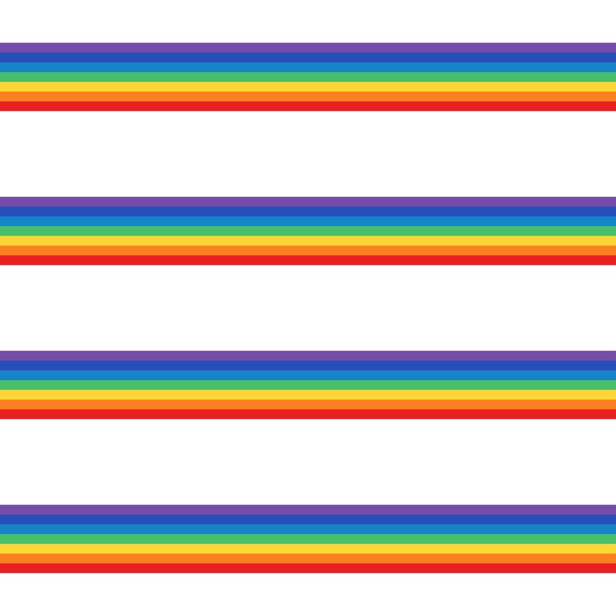 Vintage rainbow clipart picture royalty free stock vintage rainbow stripes 1 wallpaper - misstiina - Spoonflower picture royalty free stock