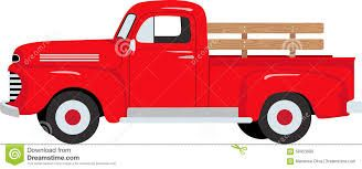 Vintage red truck clipart clipart library download Image result for vintage red chevy truck clipart   Christmas ... clipart library download