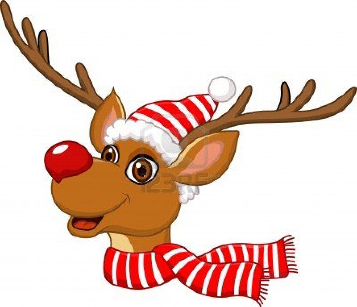 Vintage reindeer head clipart clip art black and white Stock Vector | Christmas | Santa, reindeer, Reindeer ... clip art black and white