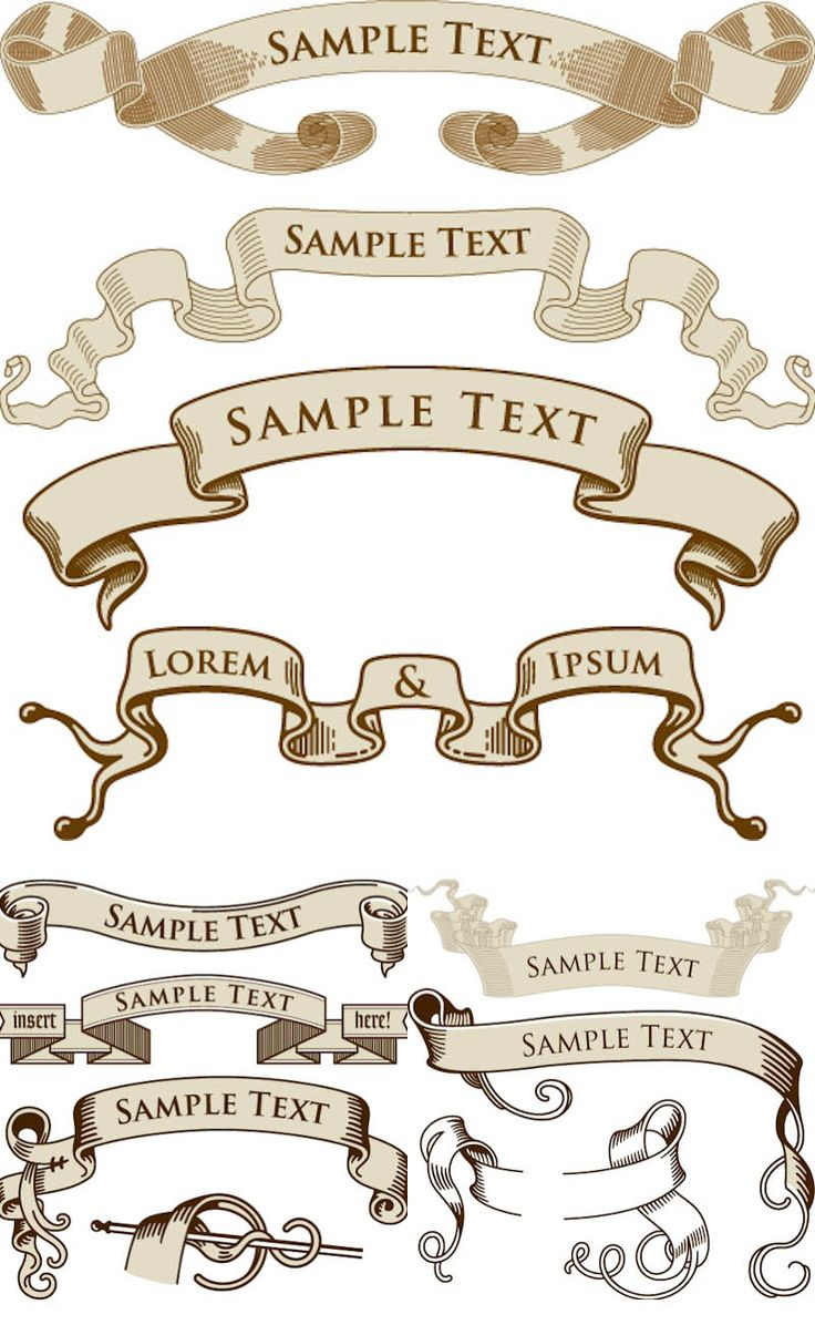 Vintage ribbon logo clipart jpg royalty free 17 Best ideas about Banner Vector on Pinterest | Banner ideas ... jpg royalty free
