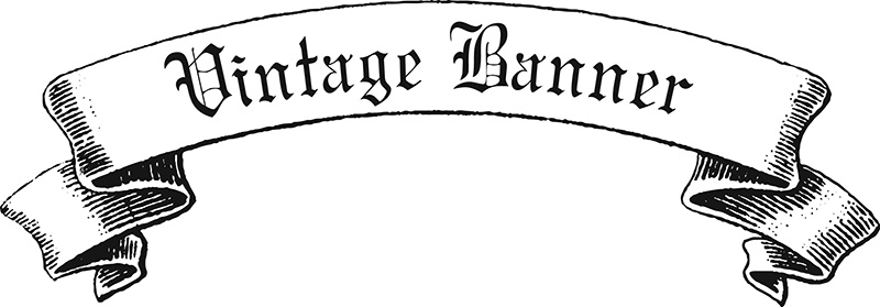 Vintage ribbon logo clipart png freeuse stock Ribbon Vector Black White Png | Free Download Clip Art | Free Clip ... png freeuse stock