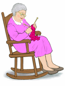 Vintage rocking chair clipart png free Clipart Old Woman Rocking Chair | Free Images at Clker.com ... png free