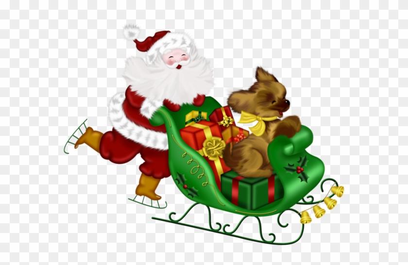 Vintage santa sleigh clipart png transparent Santa Sleigh Png - Santa Claus - Free Tr #158242 - PNG ... png transparent