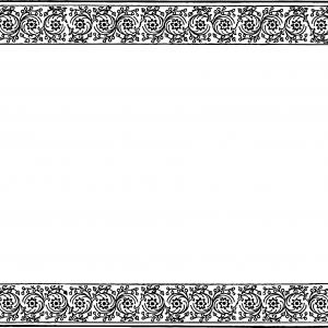 Vintage scalloped clipart banner free download Photoset Of Vintage Scalloped Vector Lace Borders | SOIDERGI banner free download