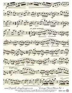 Vintage sheet music clipart jpg freeuse stock Antique Images: Digital Background of Sheet Music: Vintage Sheet ... jpg freeuse stock