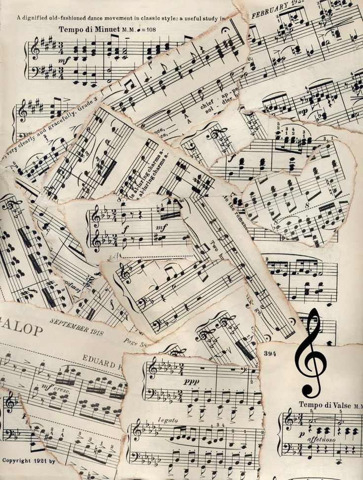 Vintage sheet music clipart graphic transparent stock Sheet Music Backgrounds Clipart - Clipart Kid graphic transparent stock