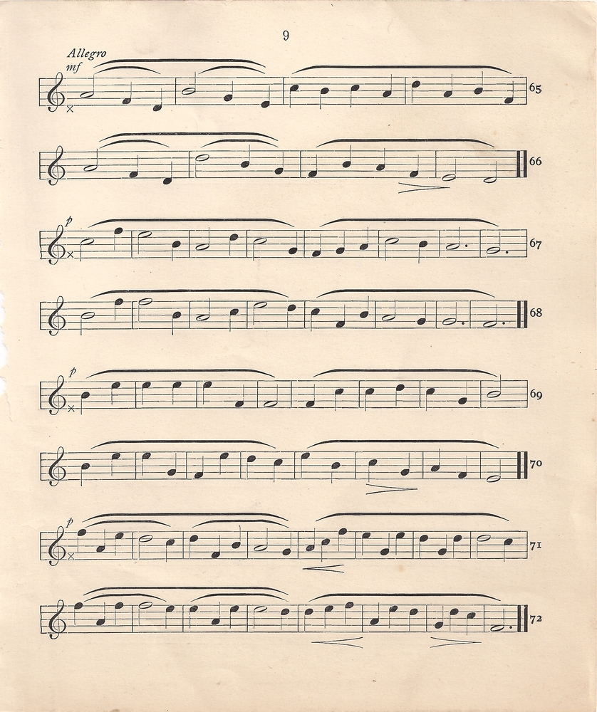 Vintage sheet music clipart clip black and white stock Vintage sheet music clipart - ClipartFest clip black and white stock