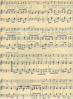 Vintage sheet music clipart jpg transparent Antique Images: Digital Background of Sheet Music: Vintage Sheet ... jpg transparent