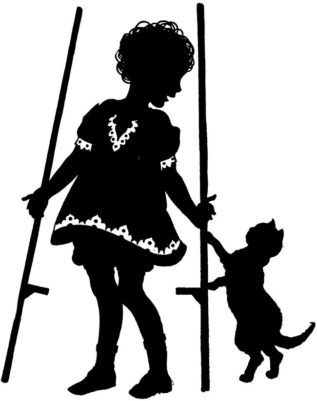 Vintage silhouettes clipart clipart royalty free Free Vintage Silhouette Art, Download Free Clip Art, Free ... clipart royalty free