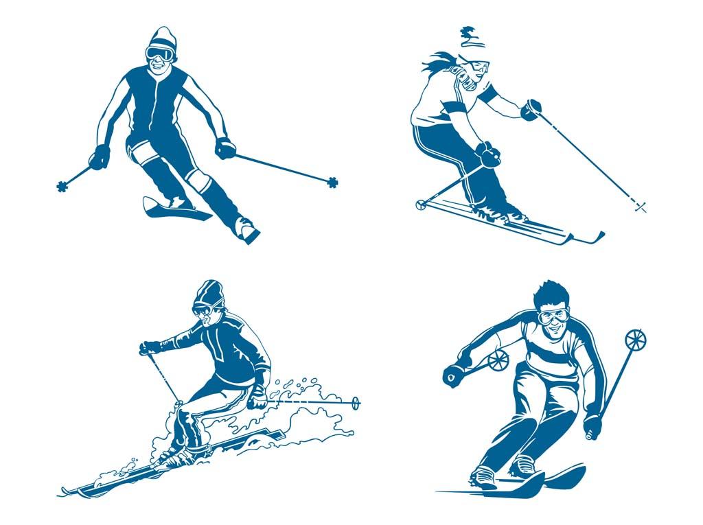 Vintage ski clipart svg freeuse download Free Images Skiing, Download Free Clip Art, Free Clip Art on ... svg freeuse download
