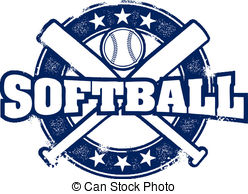 Vintage softball clipart royalty free download Softball Illustrations and Clipart. 7,597 Softball royalty ... royalty free download