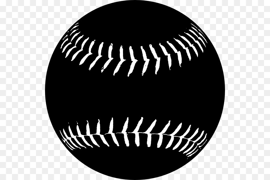 Vintage softball clipart jpg library download Black Line Background png download - 600*600 - Free ... jpg library download