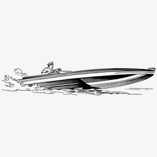 Vintage speed boat clipart png library download Motor Boats Ship Computer Icons Outboard Motor - Speed Boat ... png library download