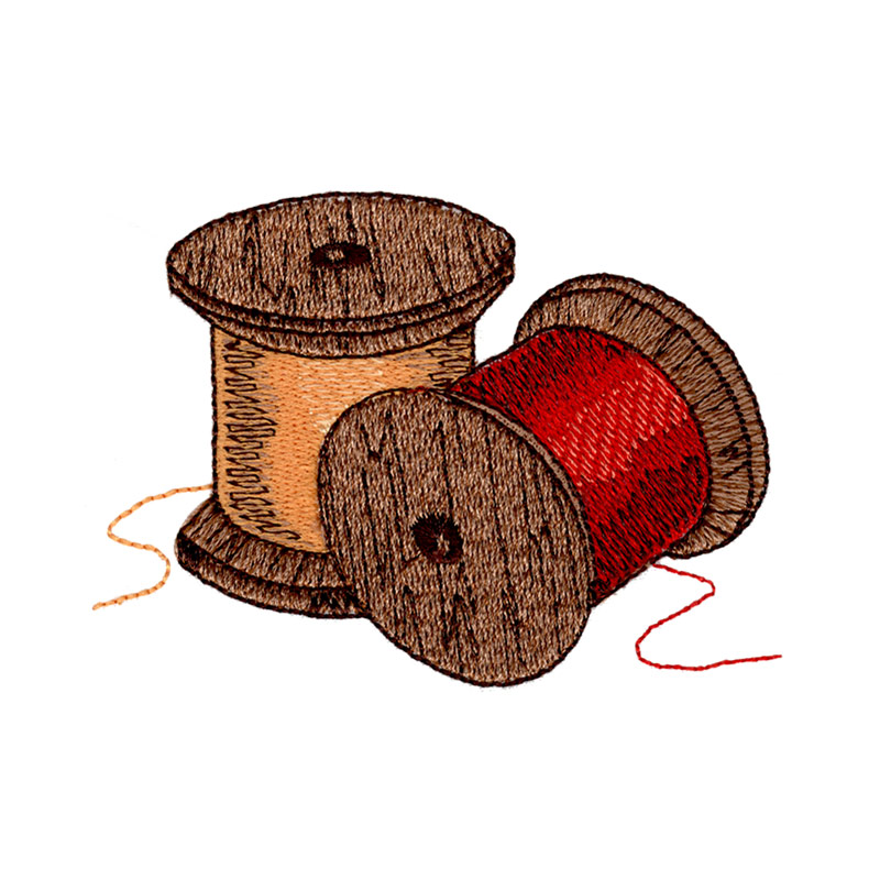 Vintage spool of thread clipart png transparent stock Vintage Thread Spools png transparent stock