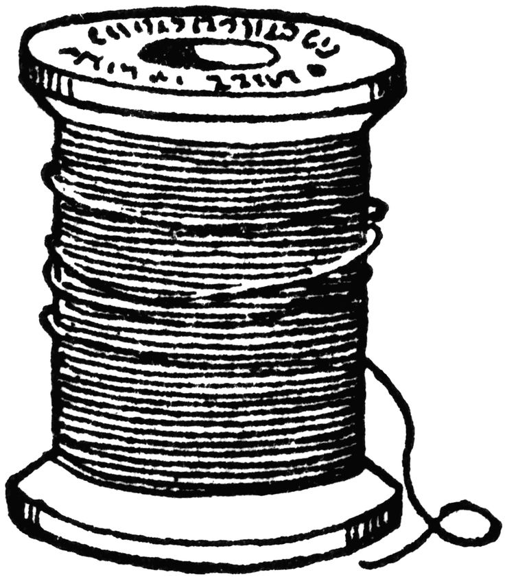 Vintage spool of thread clipart banner library download Free Thread Cliparts, Download Free Clip Art, Free Clip Art ... banner library download