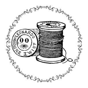 Vintage spool of thread clipart clip transparent Sew Knobs & Pulls | Zazzle.co.nz clip transparent