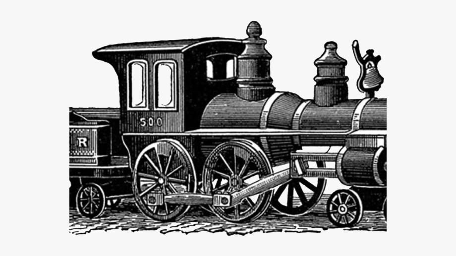 Vintage steam train clipart jpg download Engine Clipart Vintage Train - Train Father\'s Day Card ... jpg download
