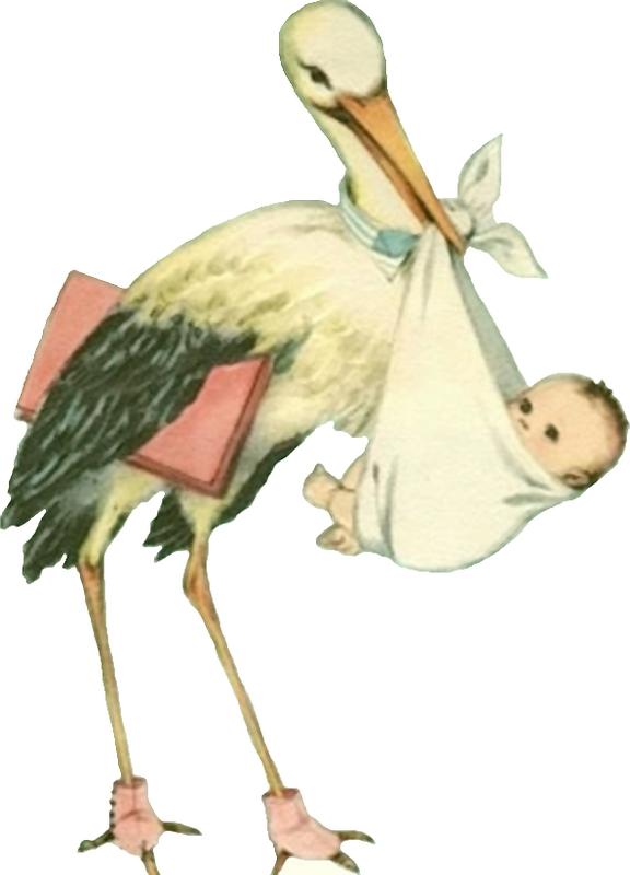 Vintage stork clipart svg transparent stock Glanzbilder - Victorian Die Cut - Victorian Scrap - Tube ... svg transparent stock