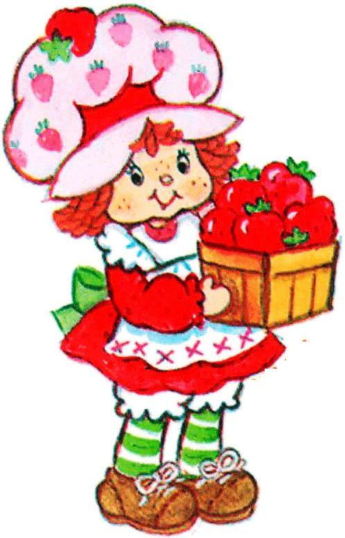 Vintage strawberry shortcake clipart clip freeuse library Strawberry Shortcake Clipart | Free download best Strawberry ... clip freeuse library
