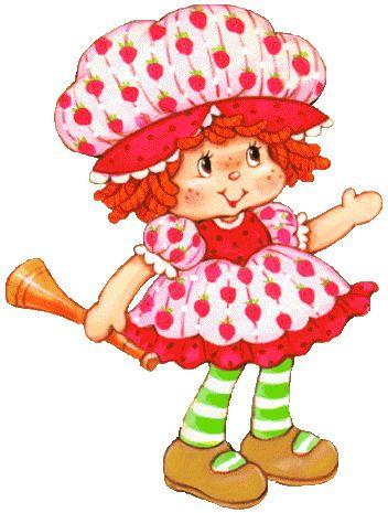 Vintage strawberry shortcake clipart stock Clip Art - Clip art strawberry shortcake 150954 | Vintage ... stock