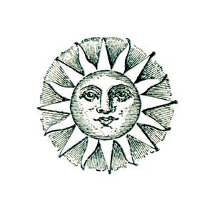 Vintage sun and hill clipart transparent download Free Vintage Sun Cliparts, Download Free Clip Art, Free Clip ... transparent download