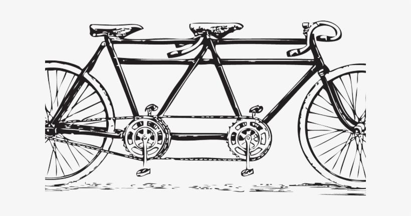 Vintage tandem bike clipart jpg stock Cycling Clipart Vintage Bicycle - Vintage Tandem Bicycle ... jpg stock