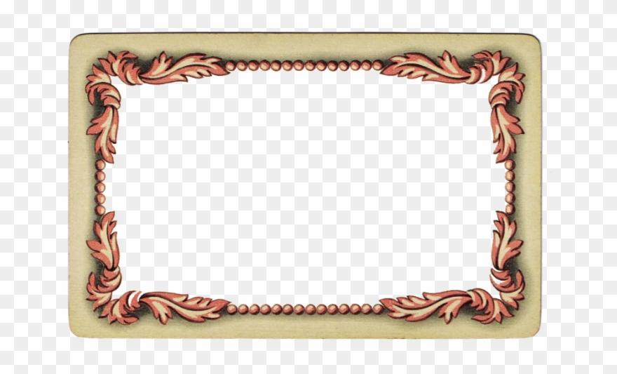 Vintage time card clipart image Vintage Frame Printables @ Knickoftime - Picture Frame ... image