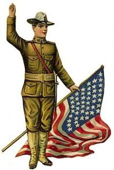 Vintage veterans day clipart graphic royalty free download Vintage Veterans Day Clip Art; | Clipart Panda - Free ... graphic royalty free download