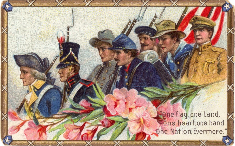 Vintage veterans day clipart jpg royalty free vintage veterans day card - Google Search | Art | Veterans ... jpg royalty free