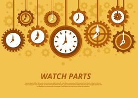 Vintage watch parts clipart png free library Antique Clock Free Vector Art - (160 Free Downloads) png free library