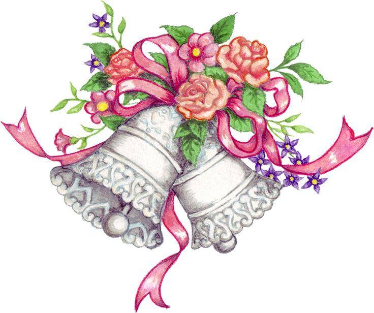 Vintage wedding bells clipart clipart transparent library Free Wedding Bells Graphics, Download Free Clip Art, Free ... clipart transparent library