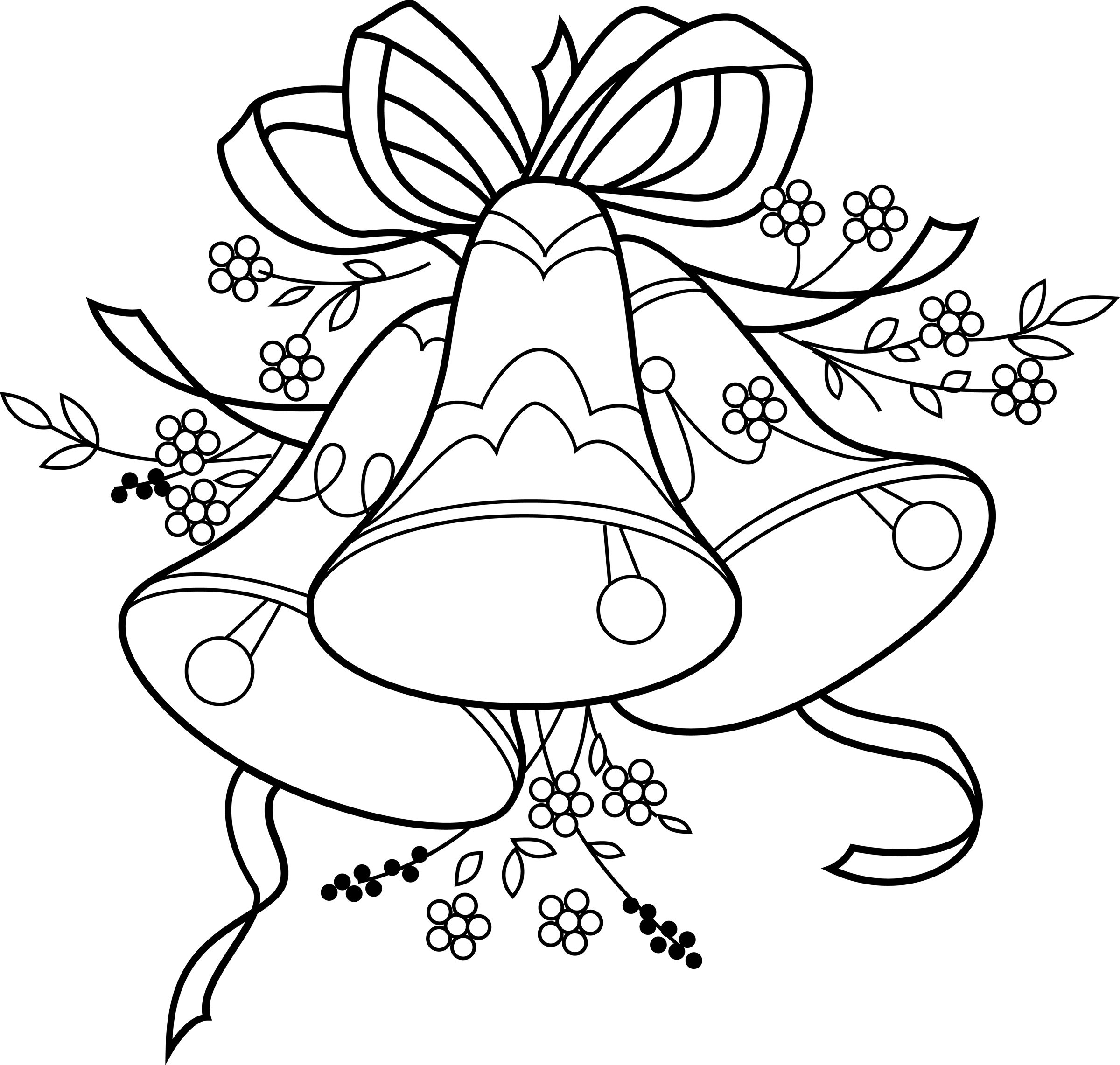Vintage wedding bells clipart clipart black and white library Free Wedding Bells, Download Free Clip Art, Free Clip Art on ... clipart black and white library