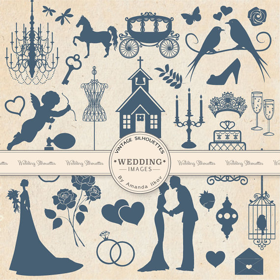 Vintage windy wedding clipart clipart library library Free Blue Wedding Cliparts, Download Free Clip Art, Free ... clipart library library