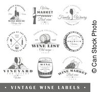Vintage wine labels clipart picture library stock Vintage wine Clip Art Vector Graphics. 16,993 Vintage wine ... picture library stock