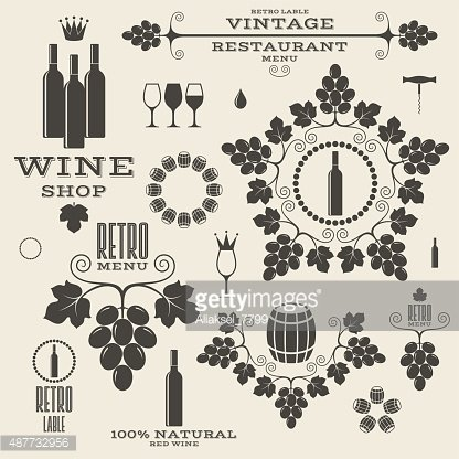 Vintage wine labels clipart graphic royalty free stock Isolated Labels and Icons premium clipart - ClipartLogo.com graphic royalty free stock