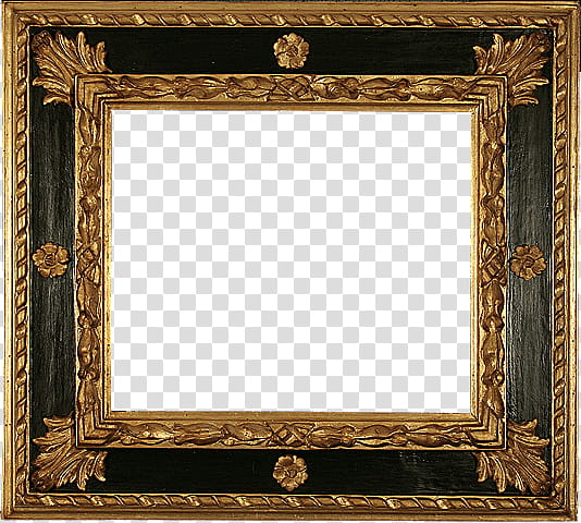 Vintage wooden signs frames clipart picture black and white library Antique Frames s, black and brown wooden frame transparent ... picture black and white library