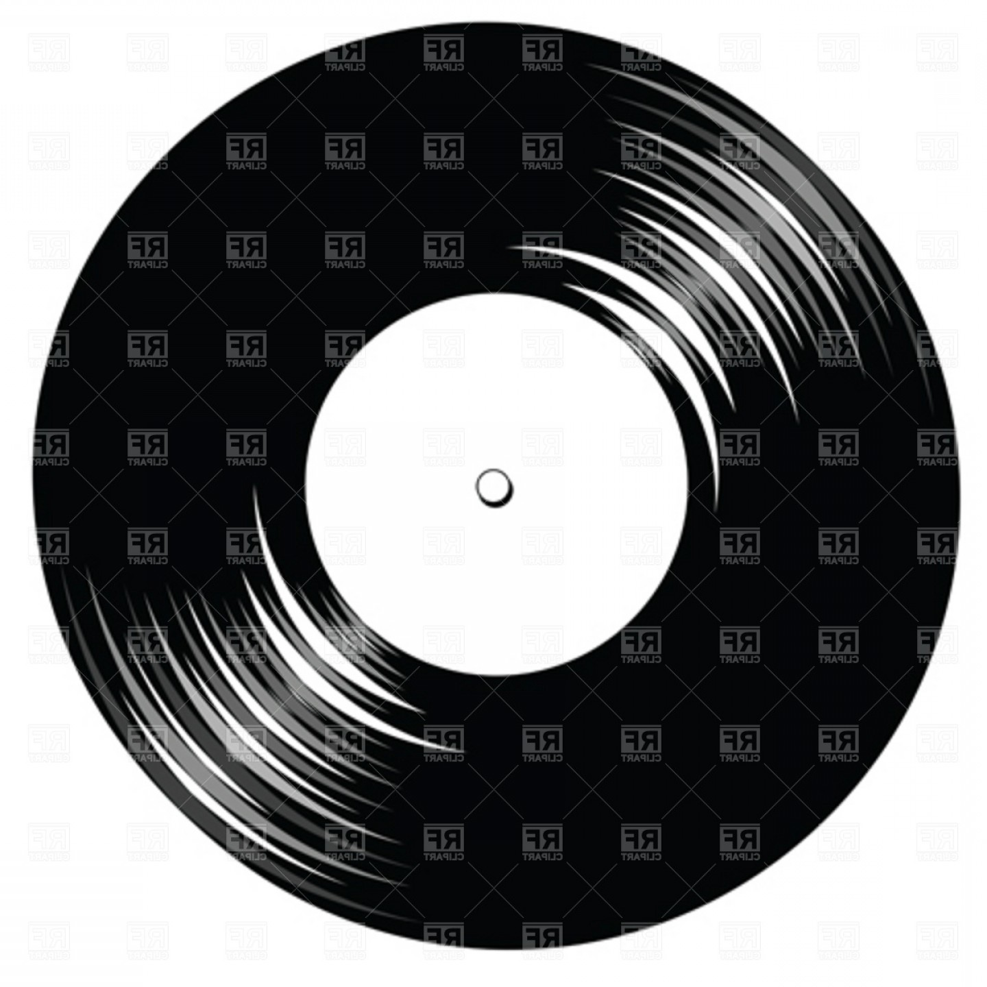 Vinyl black and white clipart png download Vinyl Record Vector Clip Art   BoozeWorthy png download