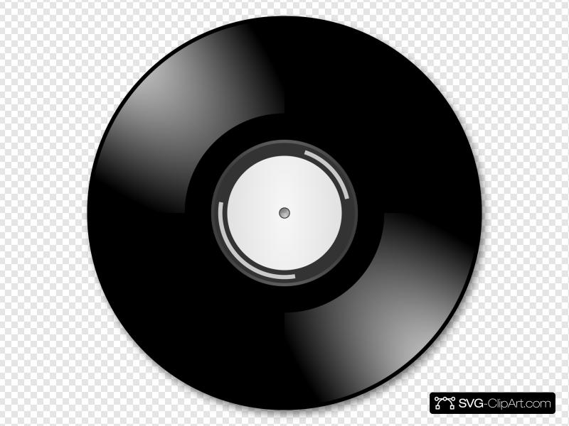 Vinyl icon clipart picture freeuse download Vinyl Disc Record Clip art, Icon and SVG - SVG Clipart picture freeuse download