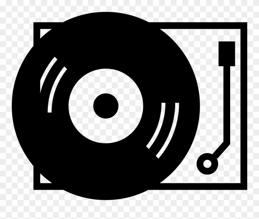 Vinyl icon clipart svg freeuse library Player Png Icon Free Download Onlinewebfonts Com - Record ... svg freeuse library